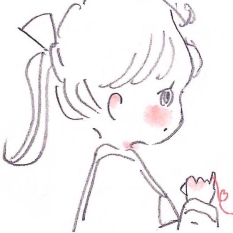 吴宣仪手绘图片