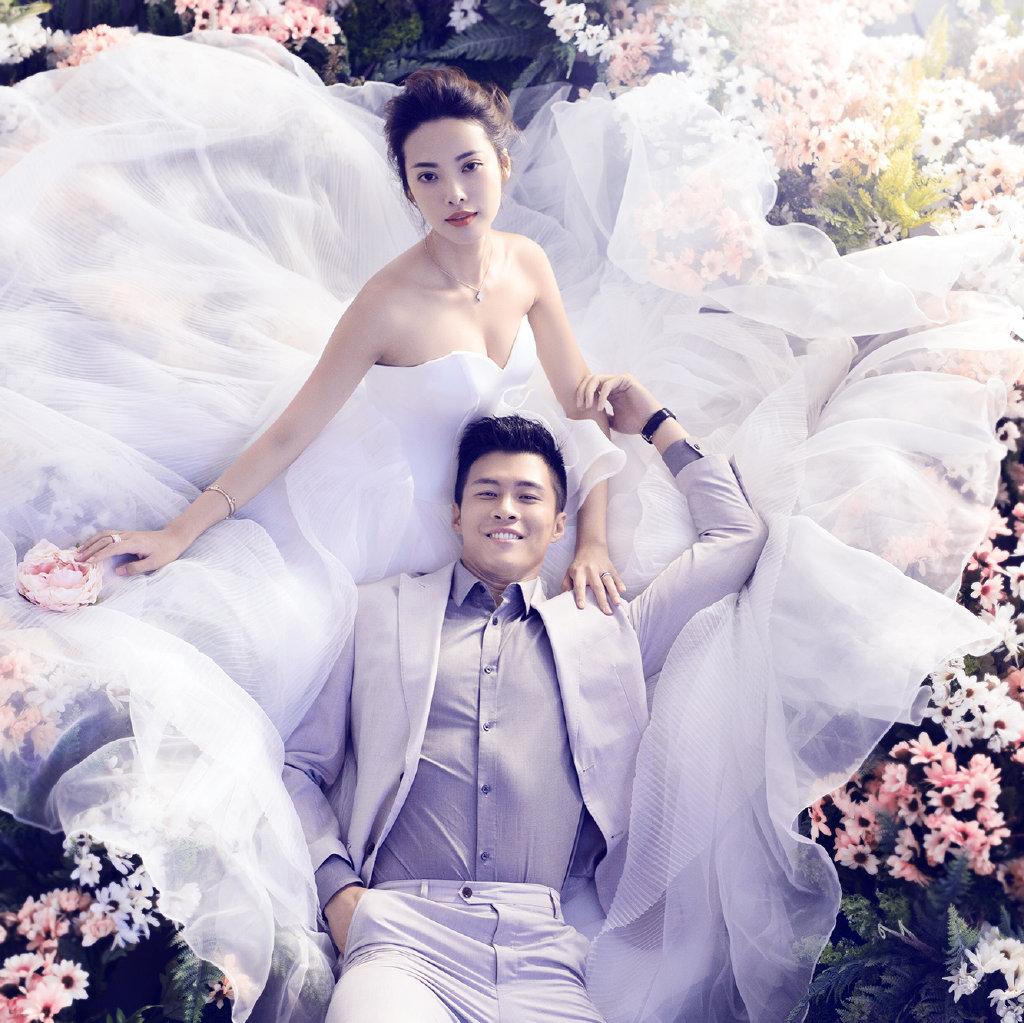 长沙婚纱照# #秋冬外景最佳拍摄地#  文艺青年无法拒绝的森系婚照