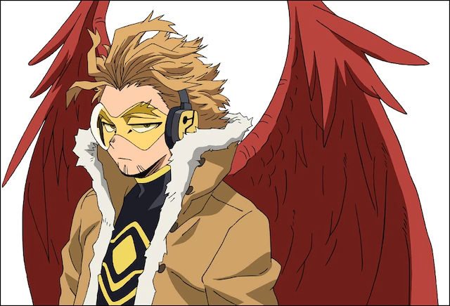 我的英雄学院:英雄崛起 Hawks 中村悠一