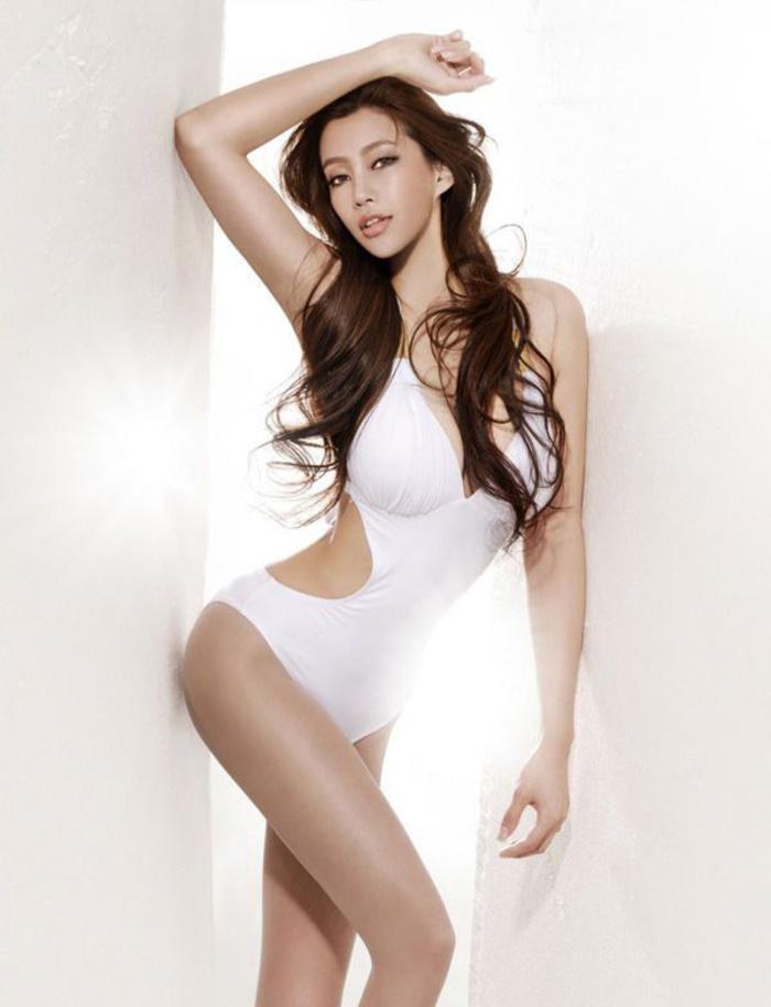 身材超好的MOKO模特王瑶瑶