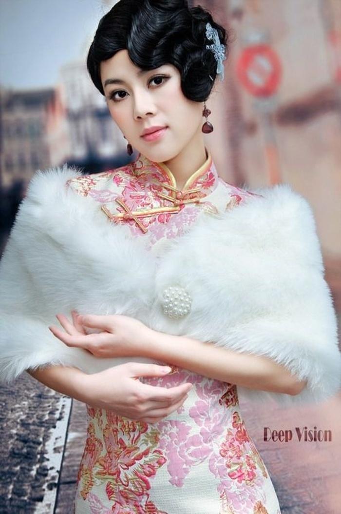 绝美复古造型旗袍写真