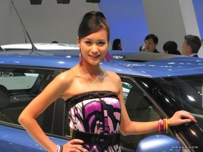 2009广州车展美女第一季