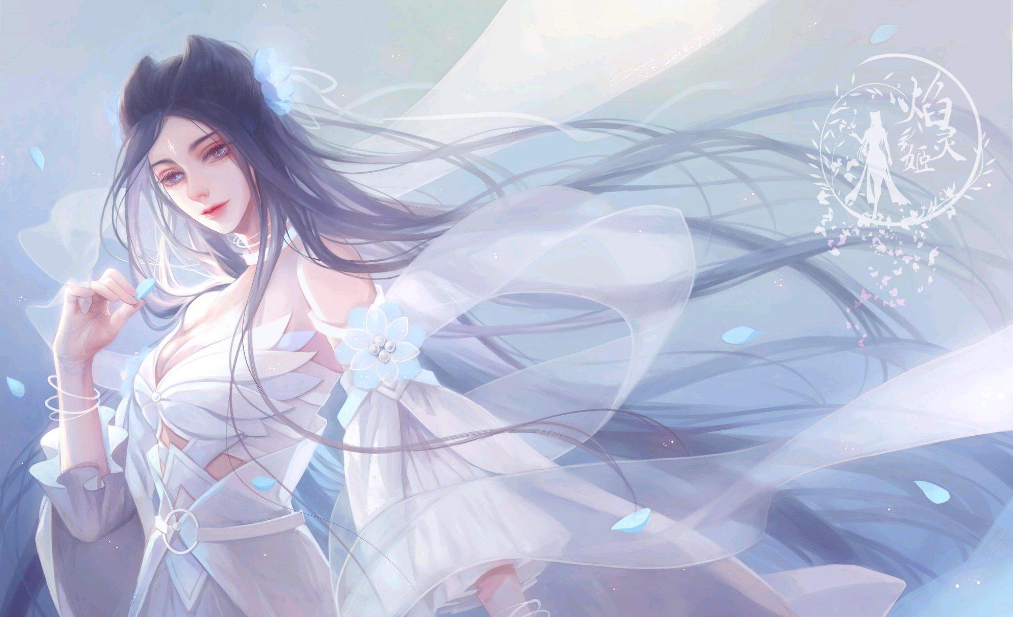 焰灵姬十月壁纸