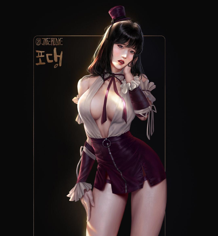 韩国画师jagercoke2d图集分享
