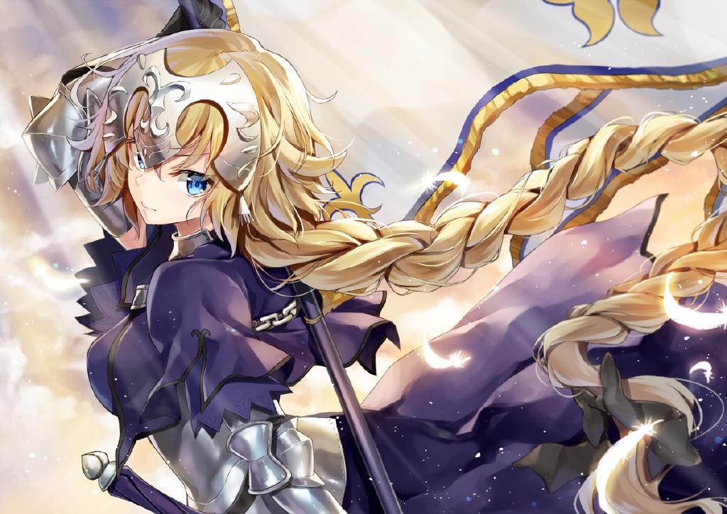 【P站美图】红莲之圣女《Fate》贞德壁纸特辑- ACG17.COM
