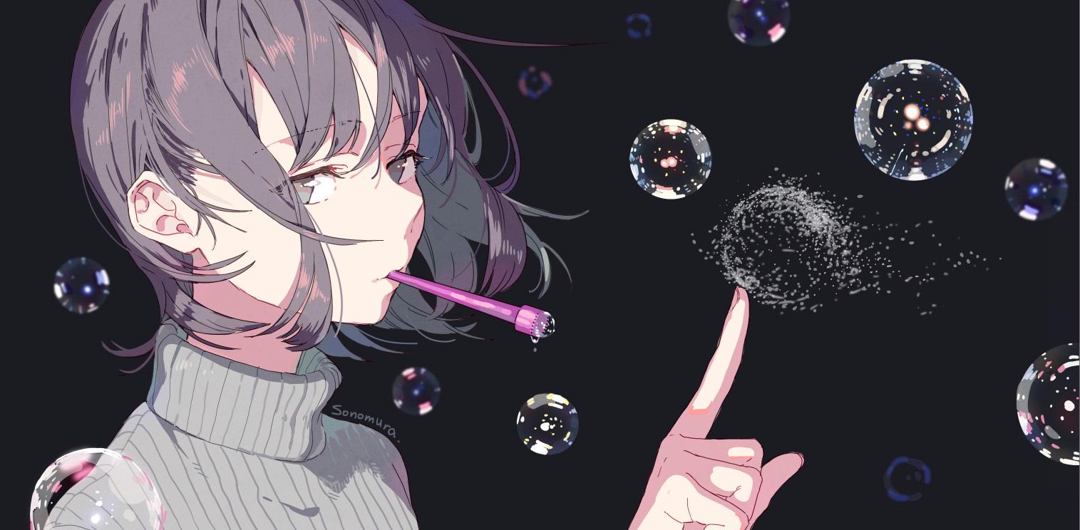 [Pixiv精选]凸显曲线美♡罗纹面料插画特辑