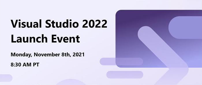 微软定于11月8日发布Visual Studio 2022