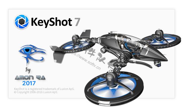 渲染软件 Luxion KeyShot Pro v9.1.98 中文破解版【Win软件】