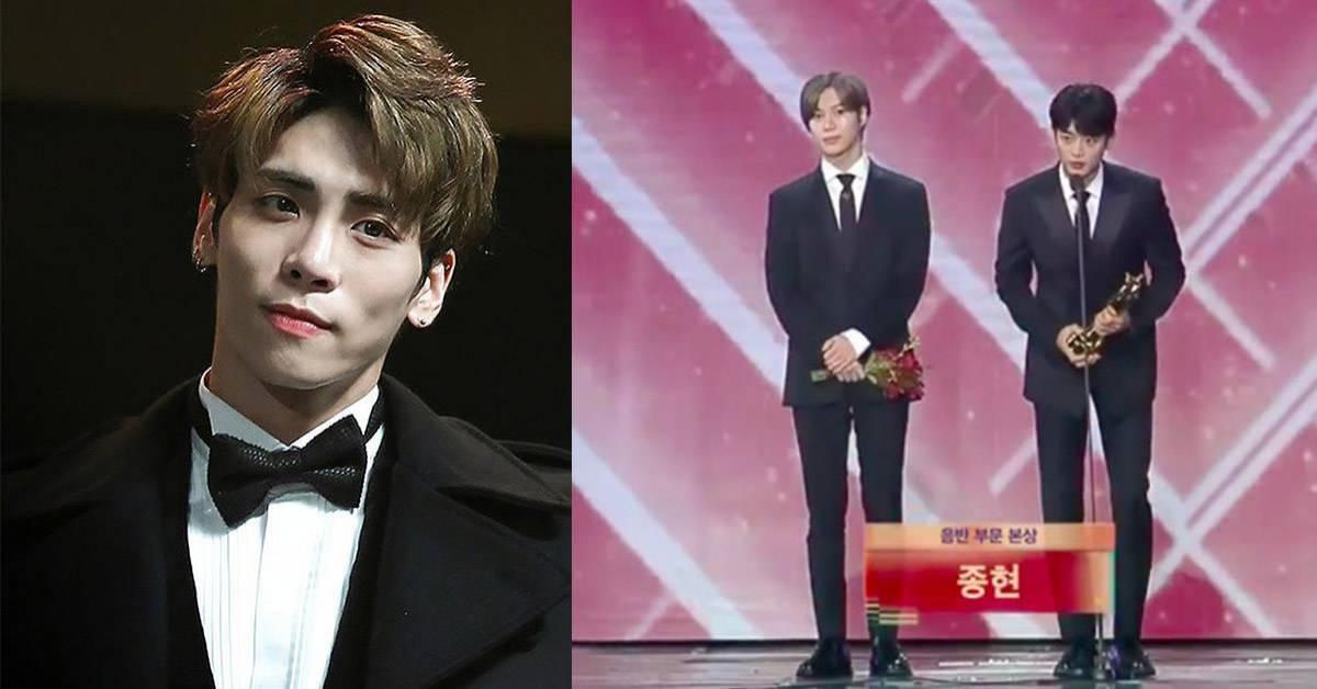 SHINee钟铉遗作一年后得大奖,泰民忍泪哽咽:请大家永远记得他!插图