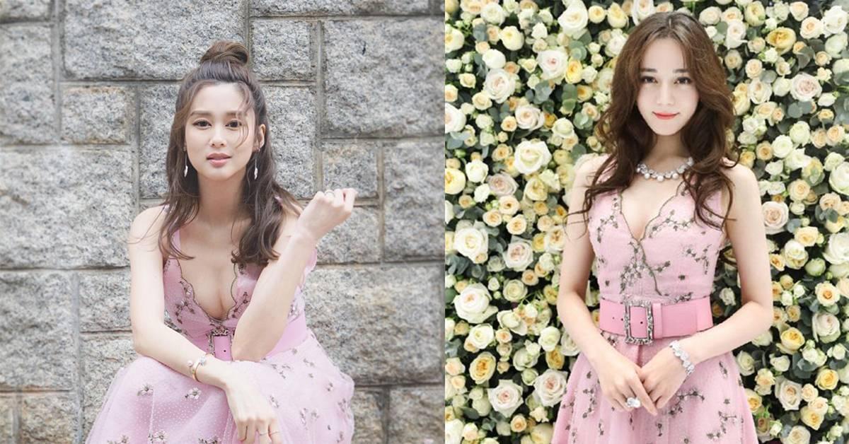 怀孕6个月TVB前花旦岑丽香晒照被网友大赞性感,还与迪丽热巴撞衫插图
