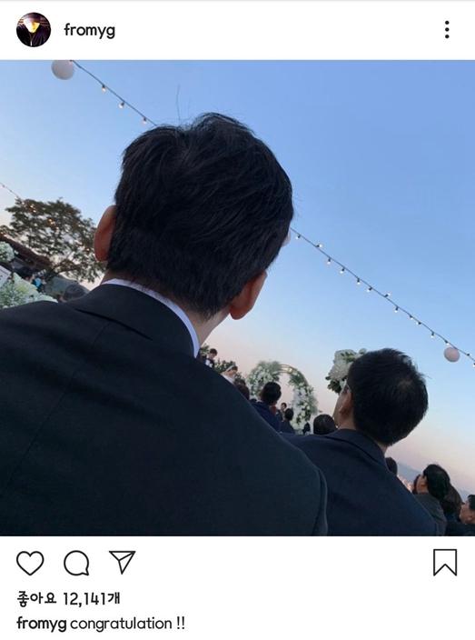 有点惨啊! YG前社长参加GD姐姐婚礼发文祝贺,却被网友骂翻了!插图5