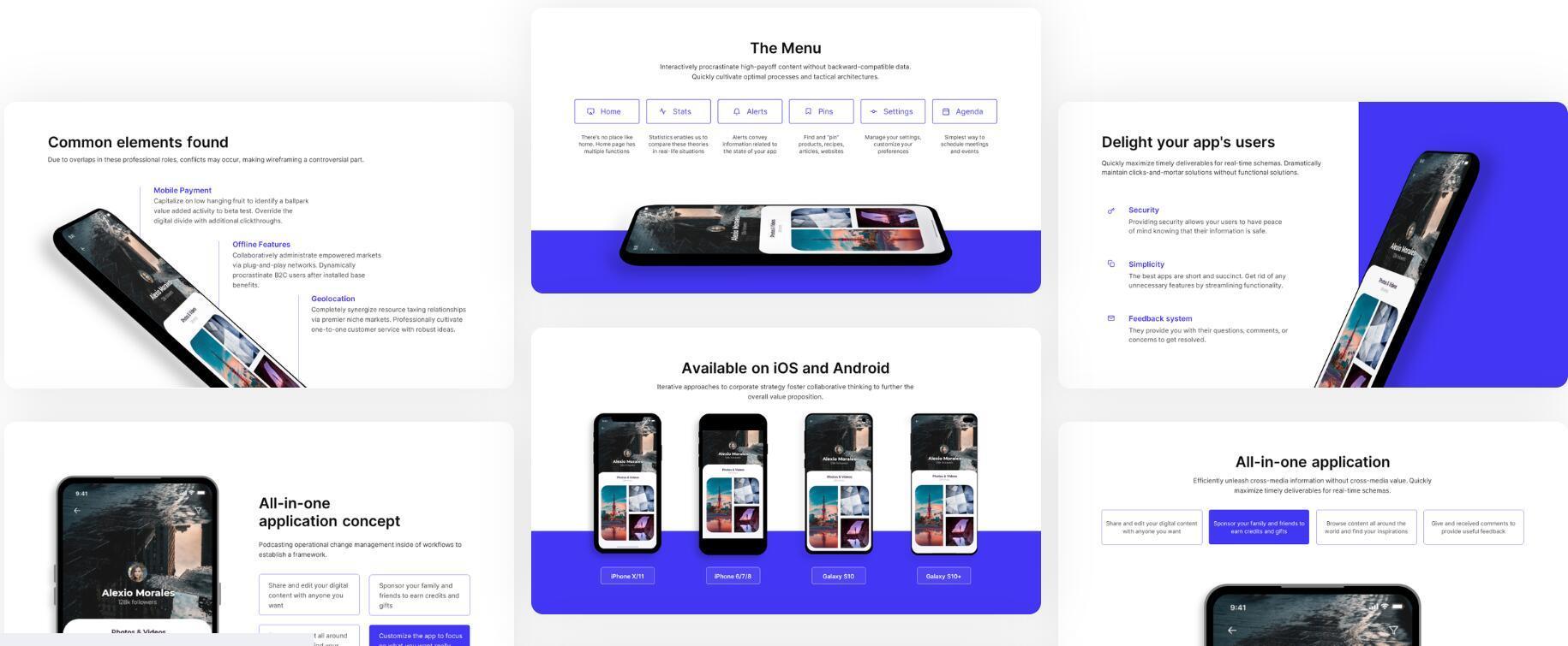 『 Selfone 』免费PPT模板,适合APP或者新媒体展示!插图(1)