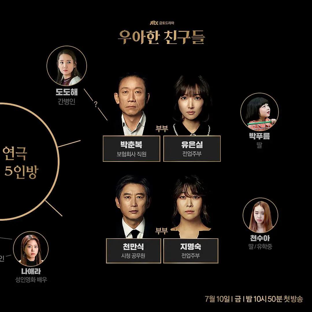 19禁版《夫妻的世界》!JTBC新剧《优雅的朋友们》将展现更真实的韩国中年夫妻生活插图(4)
