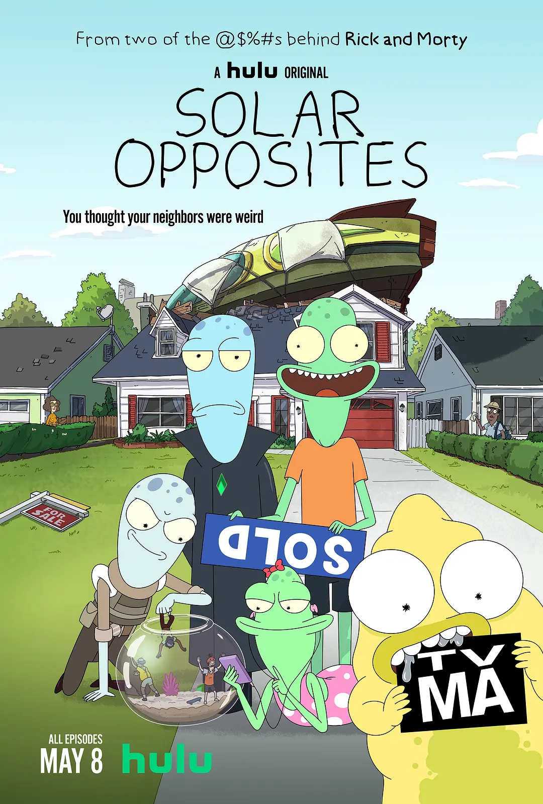 《外星也难民/Solar Opposites》第一季全集 百度云高清下载图片 第1张