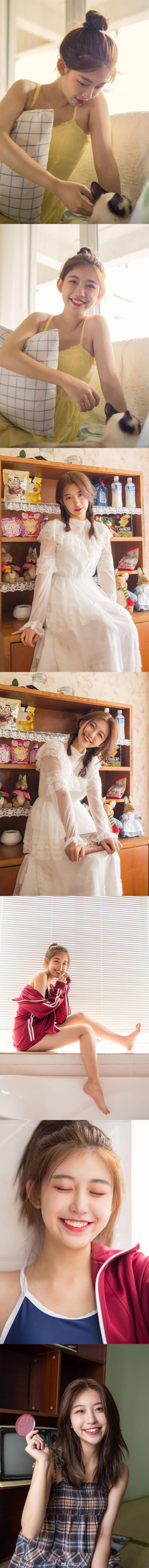 爱笑的女生,像是人间的天使插图6