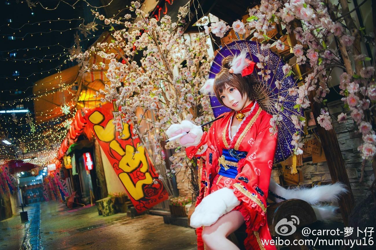 #偶像大师灰姑娘女孩##碧蓝幻想##前川未来#cn:@carrot-萝卜仔