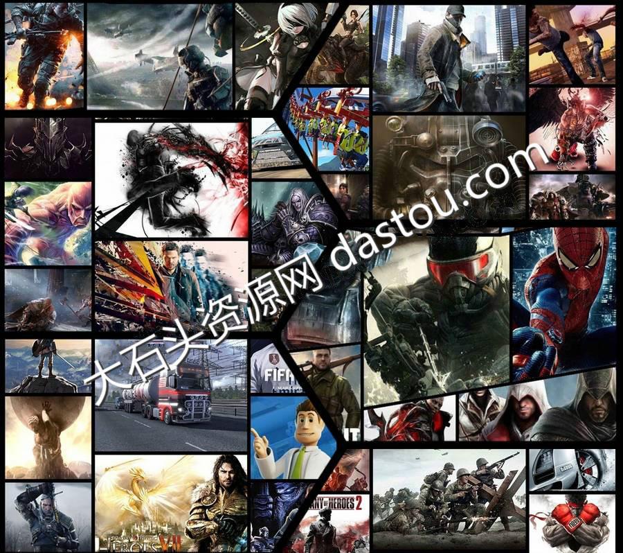 900个PS4游戏全集下载(20TB)(文档式永久保存)