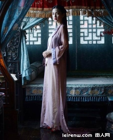 《黃飛鴻之英雄有夢》扮演心蘭的angelababy最污的照片from leirenw.com