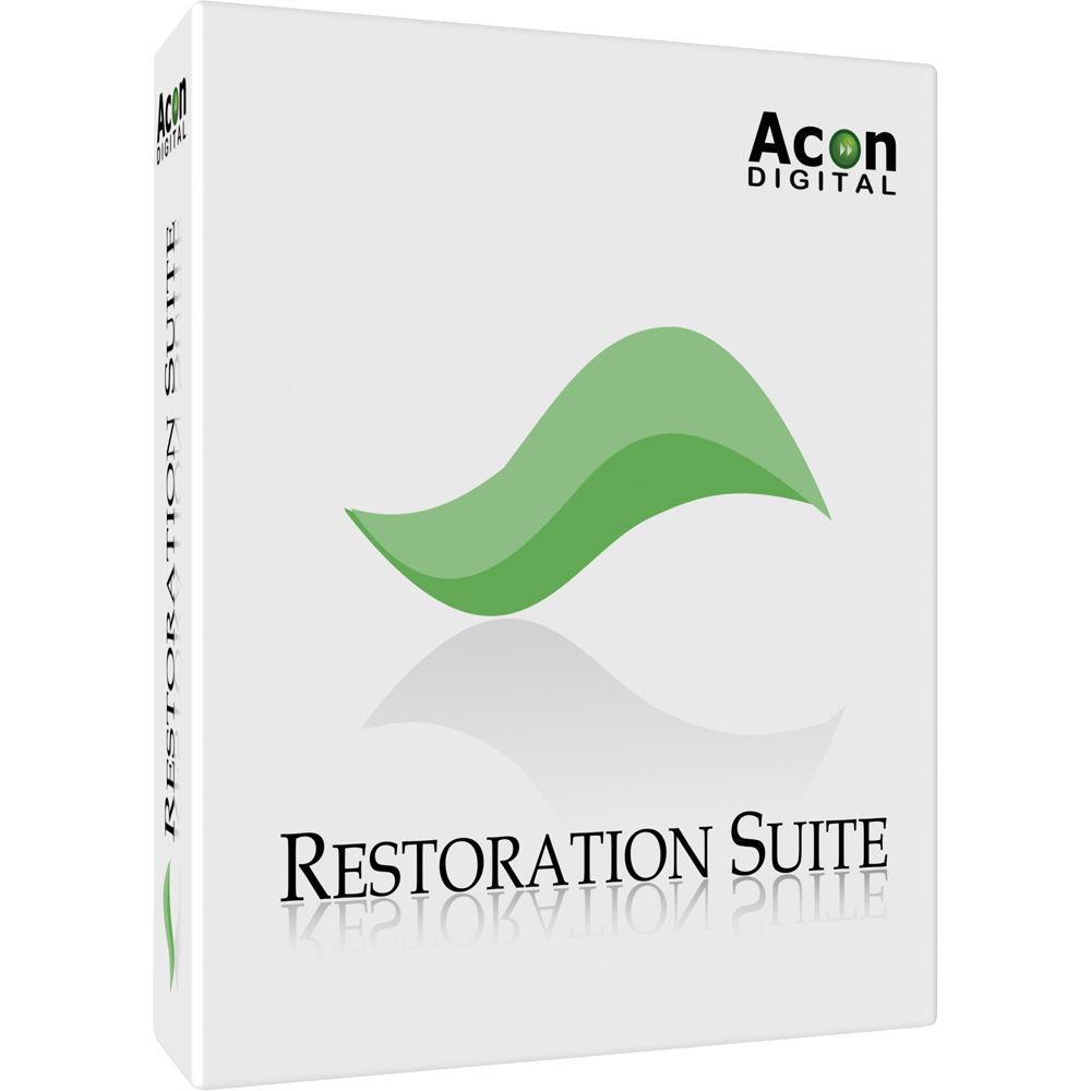 Acon Digital Restoration Suite 2.0.5 破解版 – 音频插件套件
