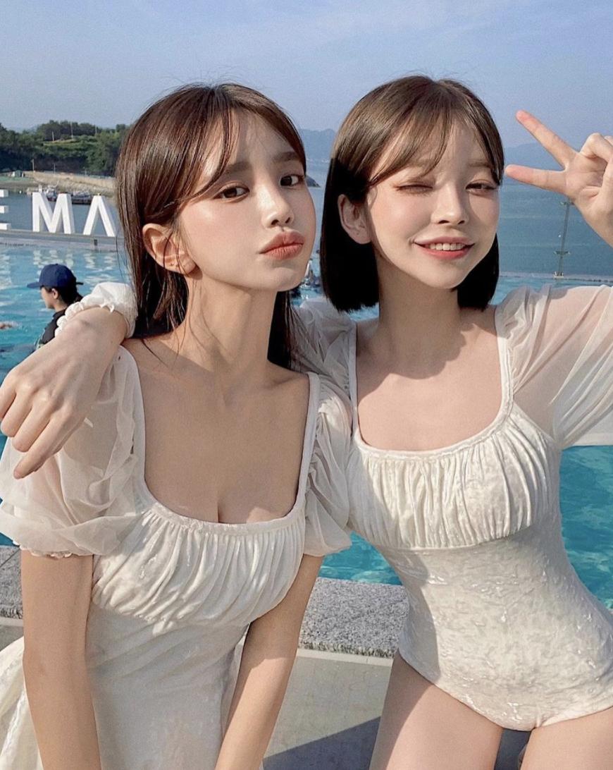 有脸蛋有身材!韩国「最高颜值闺蜜团」引爆话题,网:正妹的朋友果然是正妹