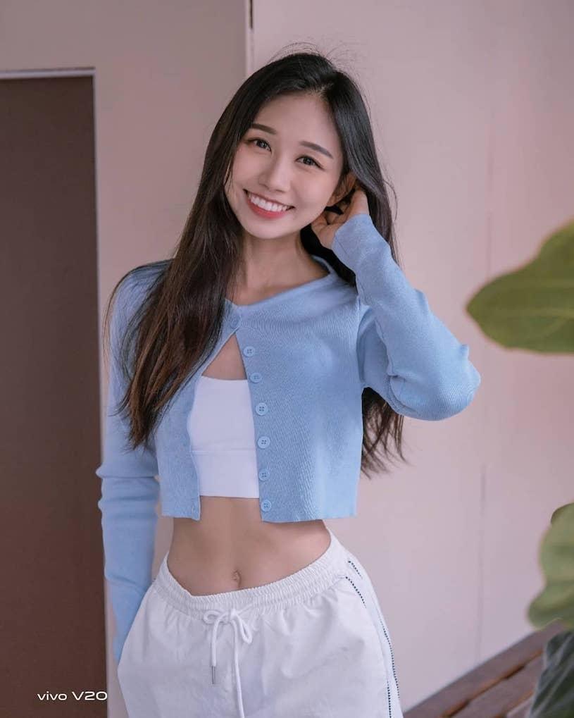 逆天大美腿!甜心空姐Joeytng私下是火辣健身网红-新图包