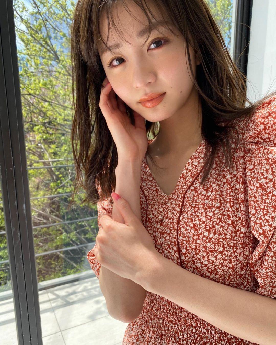 日系时尚杂志模特冈崎纱绘清甜笑容亲和力十足完全就是女友理想型 网络美女 第7张
