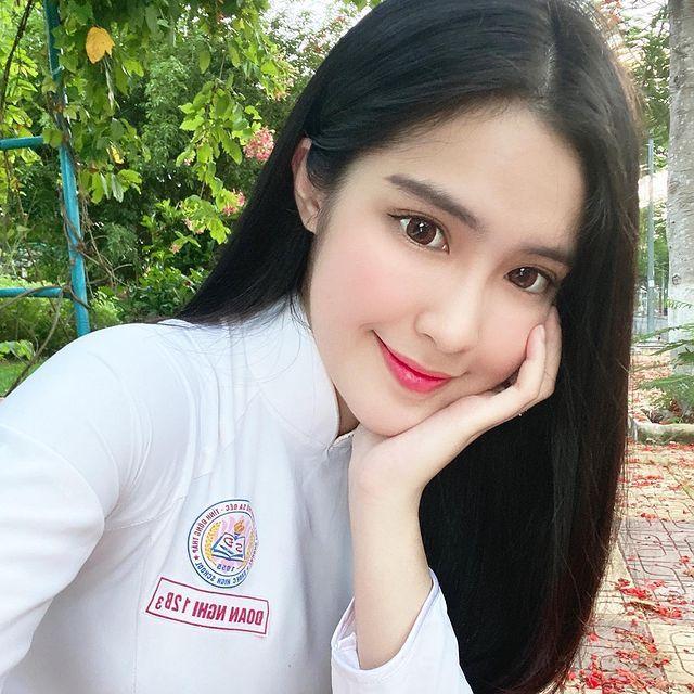 越南美少女DOANGHI雪肤嫩肤 性感清纯的18岁 养眼图片 第2张
