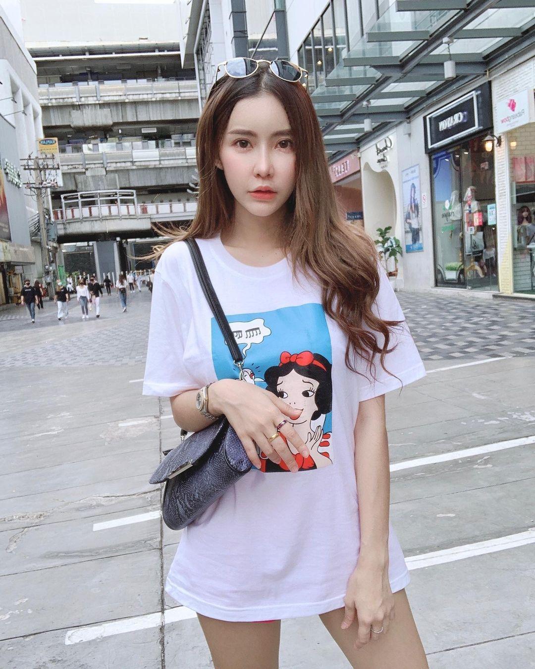泰国的萌妹子,白皙妹《Orathai Chadum》-新图包