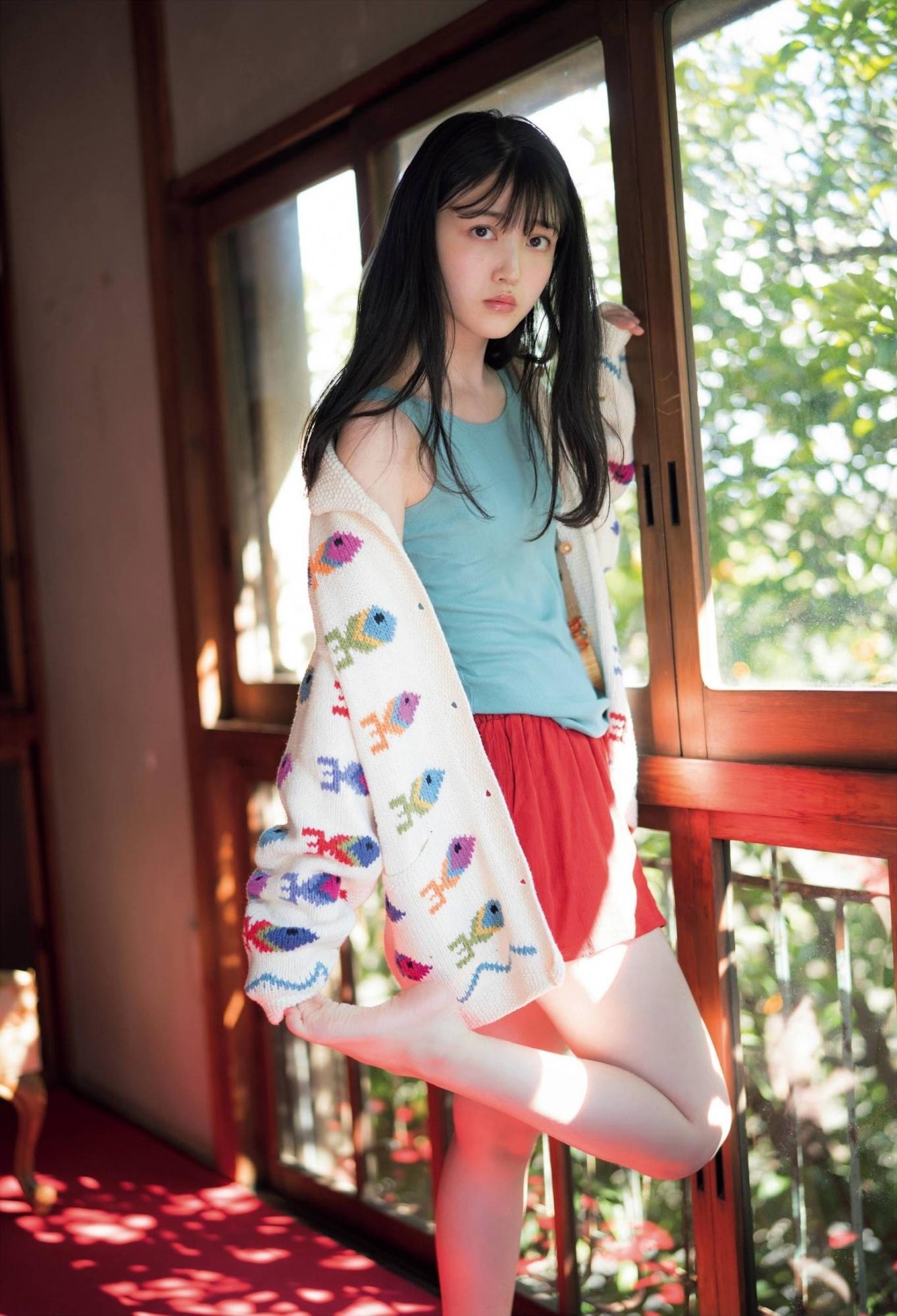 乃木坂46气质担当「久保史绪里」,甜美外型清纯可人邻家女孩气质-新图包