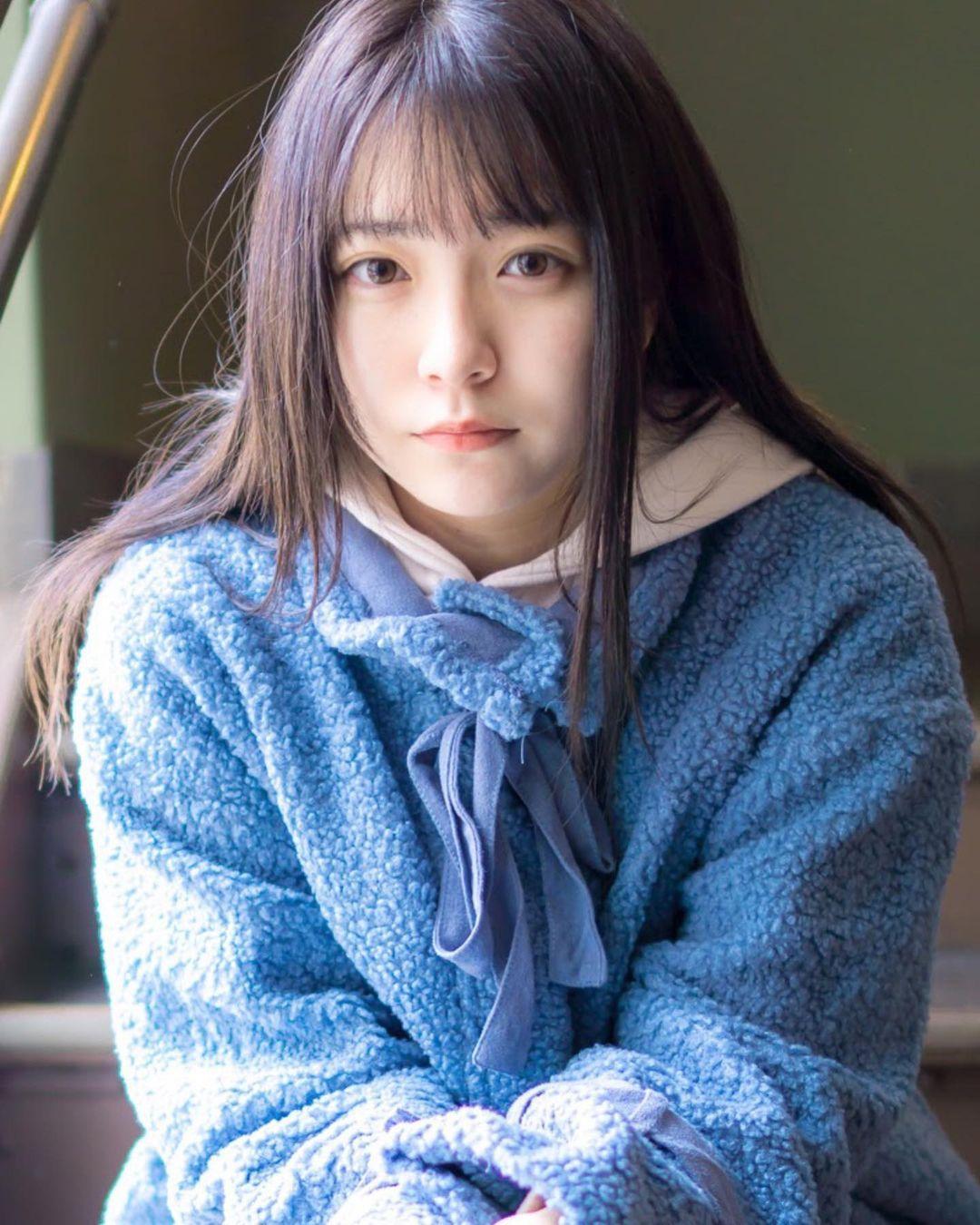 17岁仙女高中生瀬戸りつ绝美长相激似IU 全身散发空灵气质美到有点不真实 养眼图片 第7张