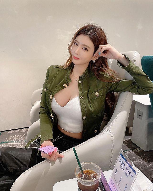 韩国的人气模特儿朴多贤E杯超级火辣 养眼图片 第2张