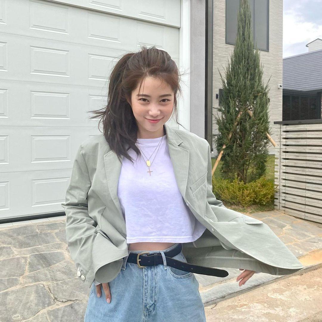 韩国甜甜小姐姐한나身材超会藏根本是神隐少女 宅猫猫 热图6