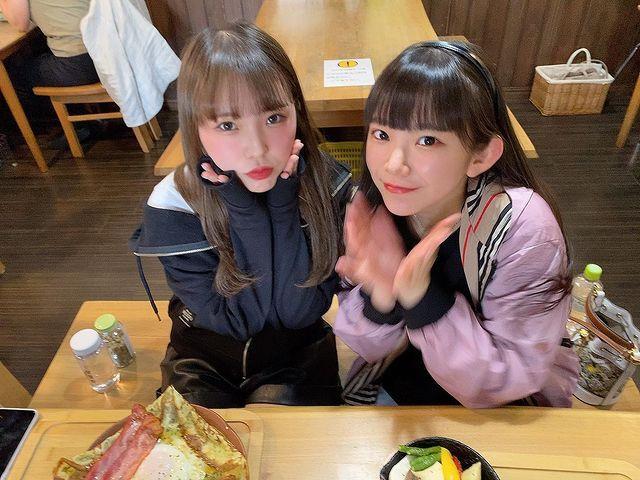 长泽茉里奈与长泽圣爱合拍,大家认的出谁是妹妹谁是姐姐吗?