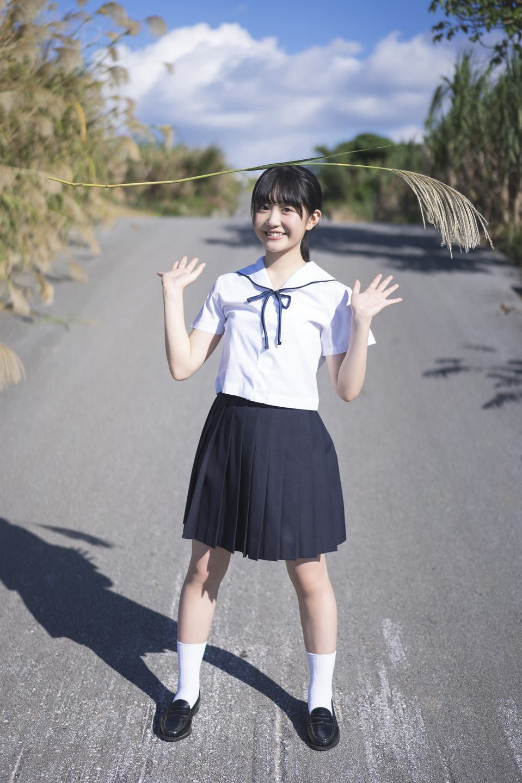 SUPER☆GIRLS甜萌偶像《阿部梦梨》泳装!少女清新香到翻掉!