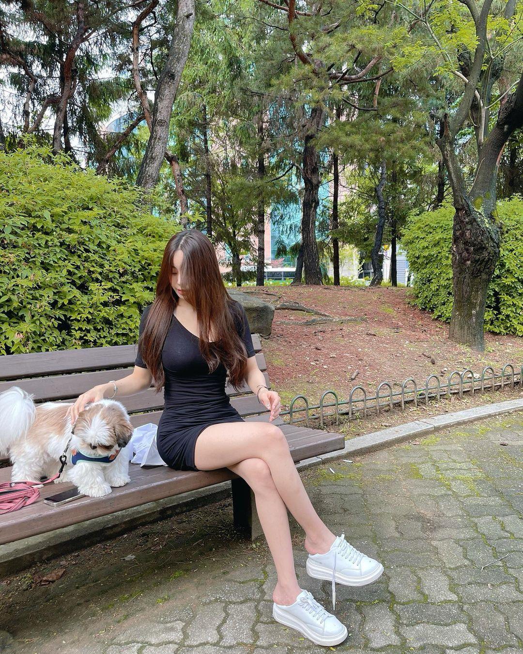 韩国的超气质美女(ins:oxxooi)完美颜值超迷人 养眼图片 第6张