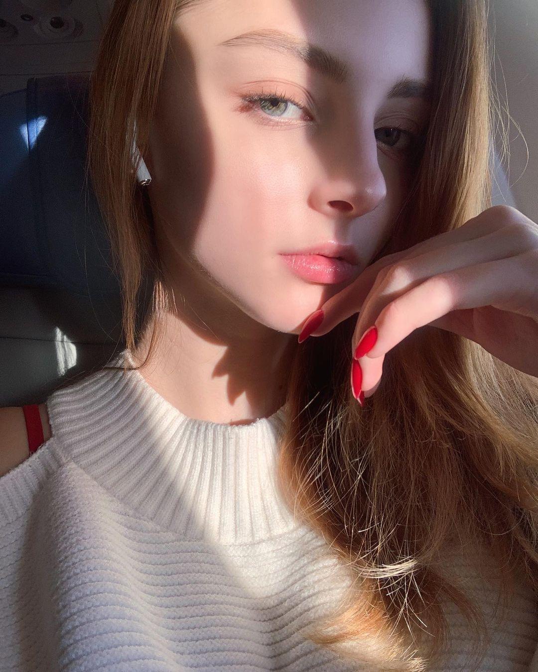 [正妹]完美比例天使脸孔[白俄罗斯女模]内衣广告网友直呼好仙 养眼图片 第2张