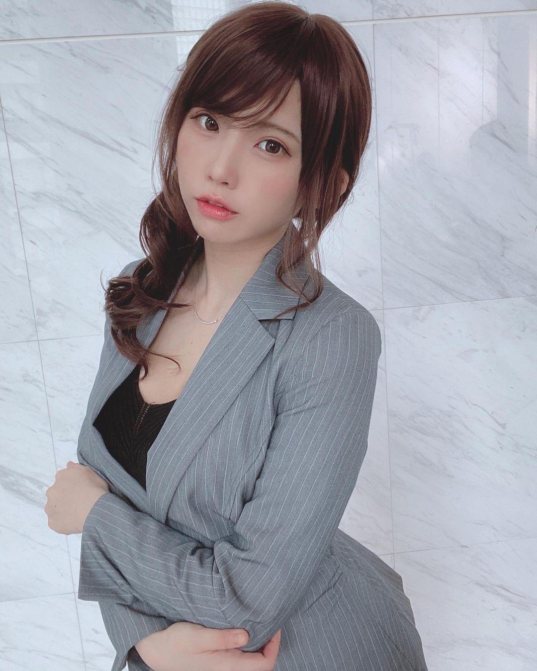 日本百万Coser 再出写真Enako 曝光短发+E造型散发青春活力 网络美女 第1张
