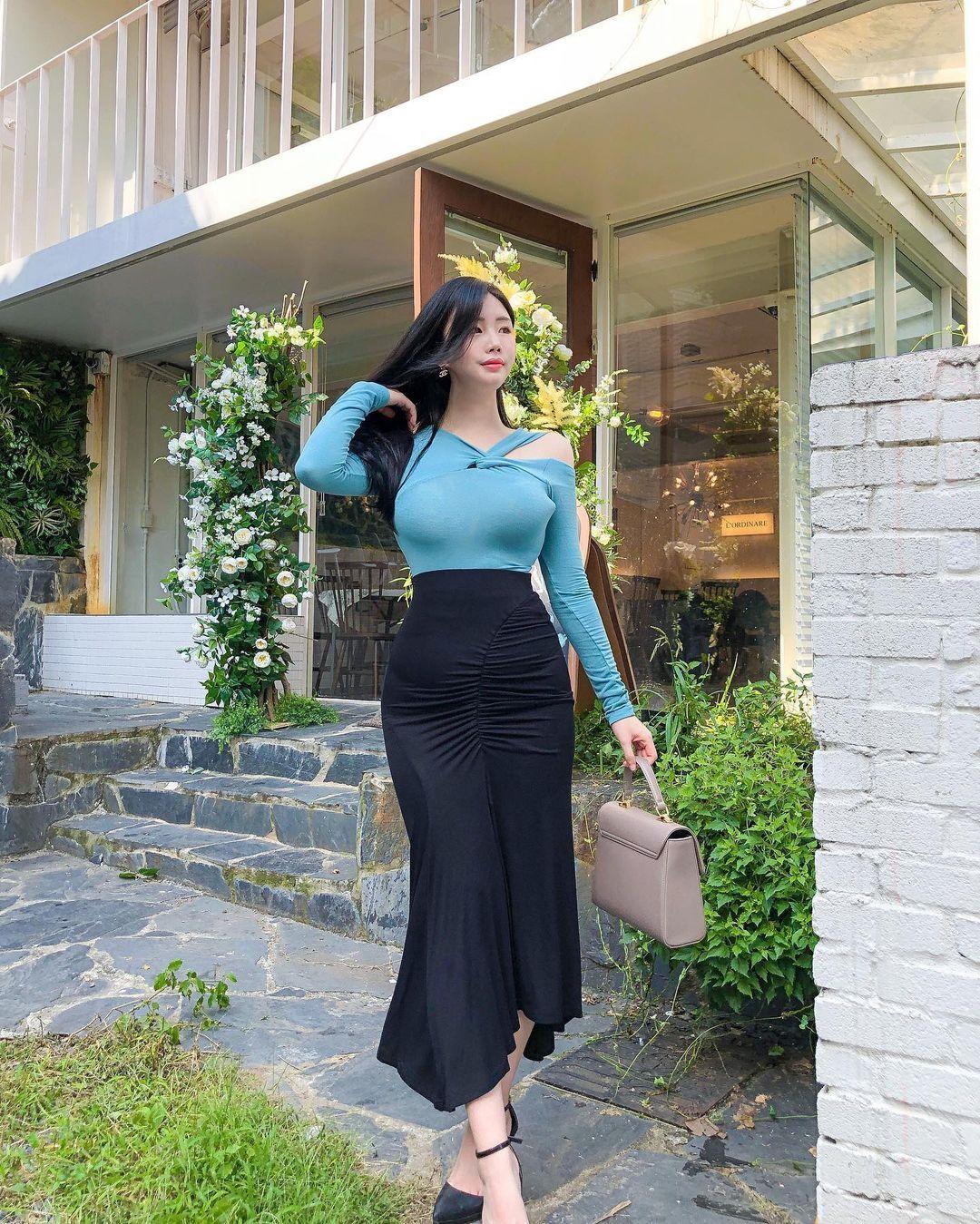 清凉穿着自己卖 [韩国泳衣阙娘Yebin]亲自试穿性感度满点 养眼图片 第4张