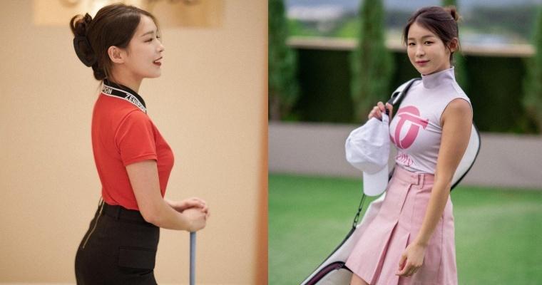 韩国「高尔夫正妹」Becky 狂吸 33 万粉丝!好身材更让人心动-喵喵女