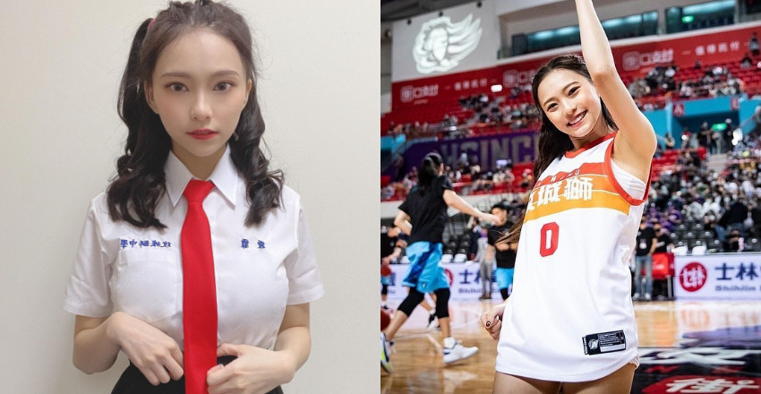 职篮啦啦队员李芷霖充满青春活力意外发现是多年前爆红的正妹