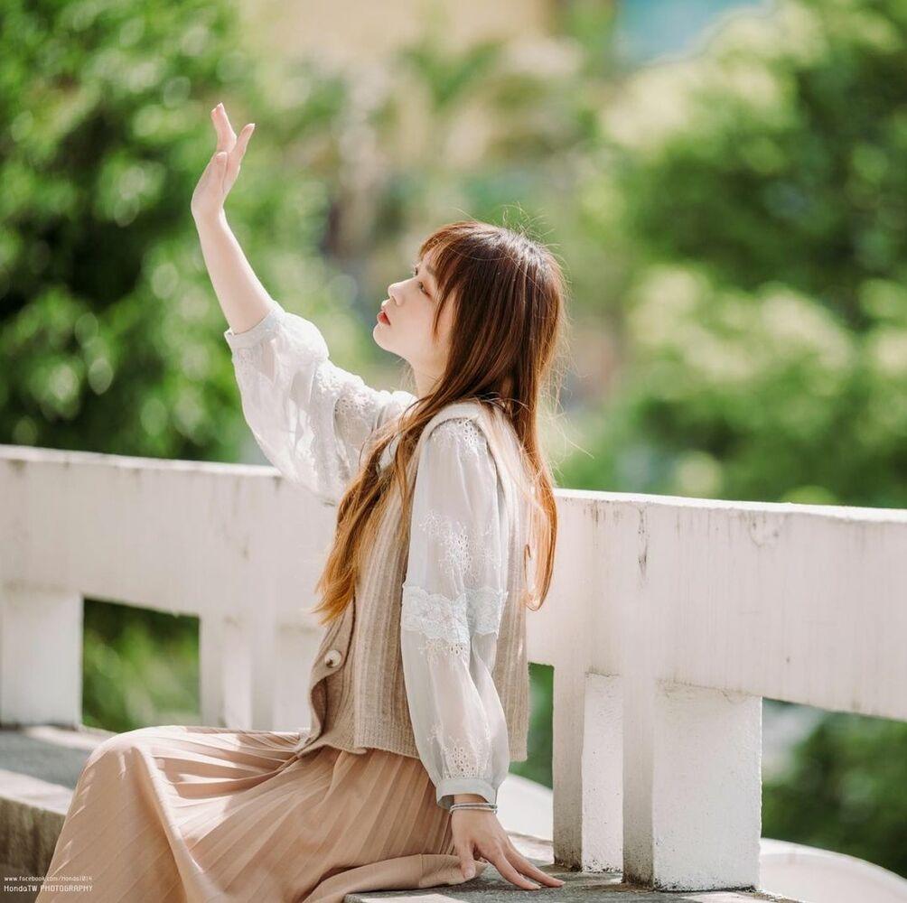 清透嫩白美眉阿耕Yusi满满胶原蛋白的氧气少女(20P) 网络美女 第6张