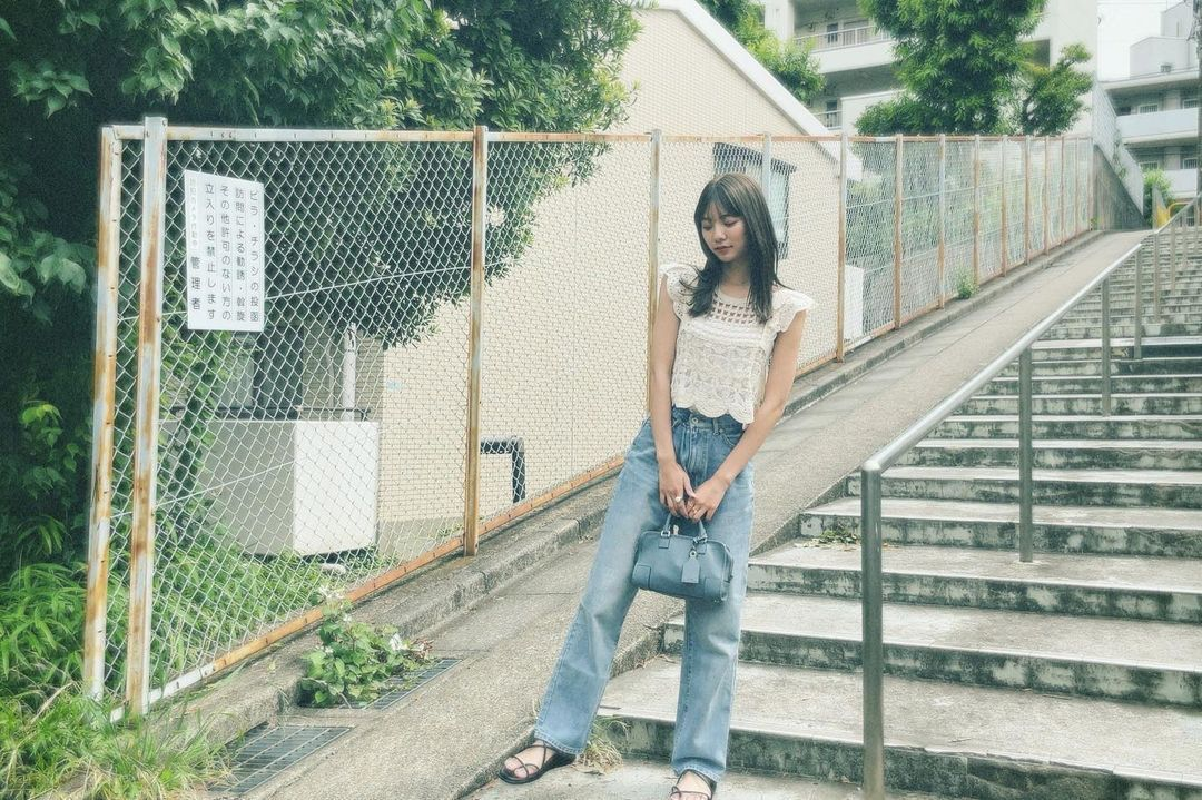 清纯美少女川津明日香日本知名模特儿兼女演员 网络美女 第9张