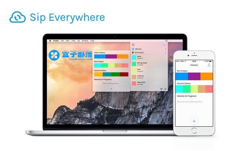 Sip Pro 1.1.3 macOS 平台上的一款非常不错的屏幕取色软件工具