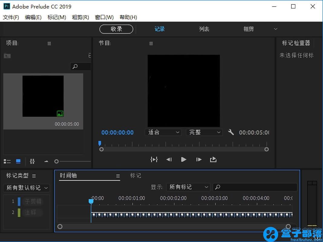 Adobe Prelude for Mac 2019 v8.1.1 中文完整直装版