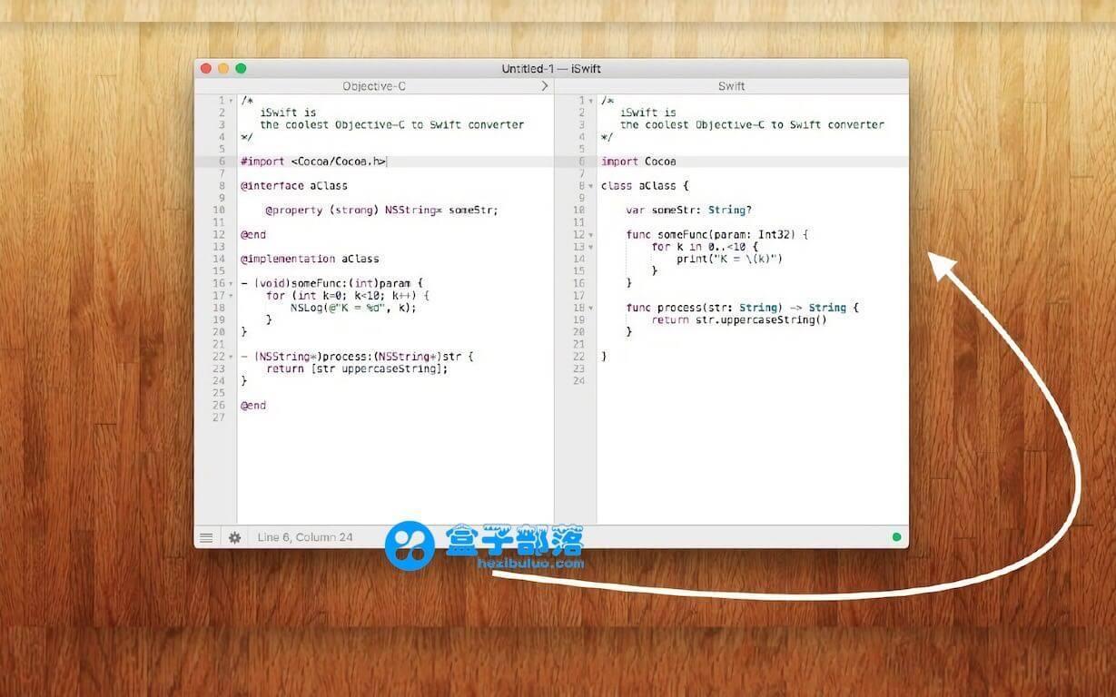 iSwift v4.0 一款 Objective-C 语言转换为 Swift 语言的翻译工具