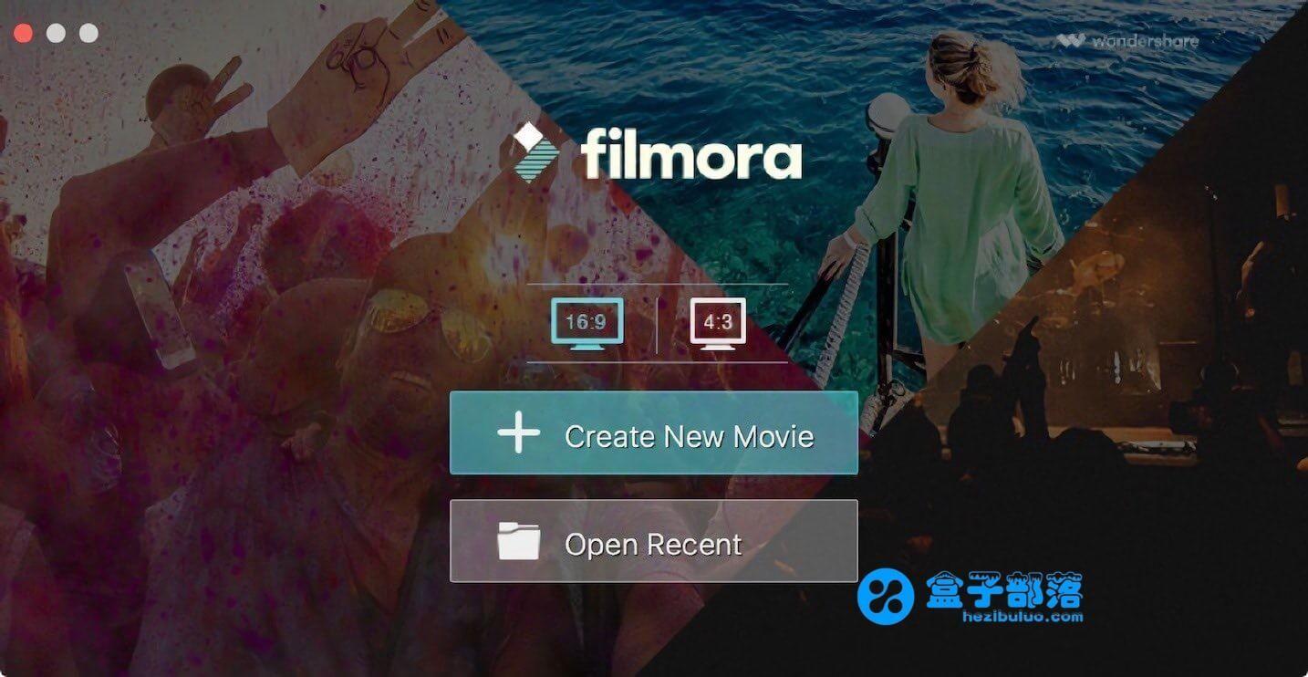 Wondershare Filmora v9.0.4.2 界面简洁、功能强大的视频编辑工具