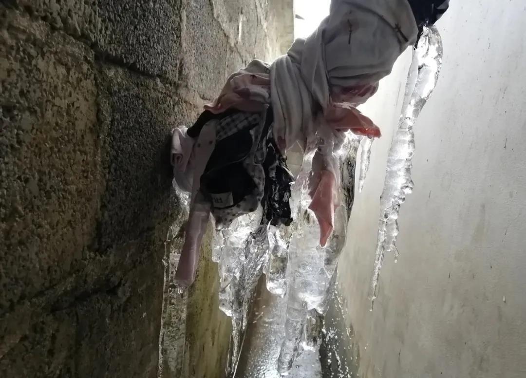 【蜗牛扑克】一个多月连续低温下雪,水管结冰,学校断水