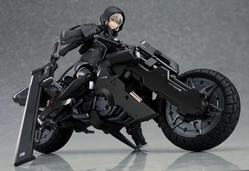 【手办模型】Max Factory《重兵装型女子高中生》壹[another]摩托 figma可动手办