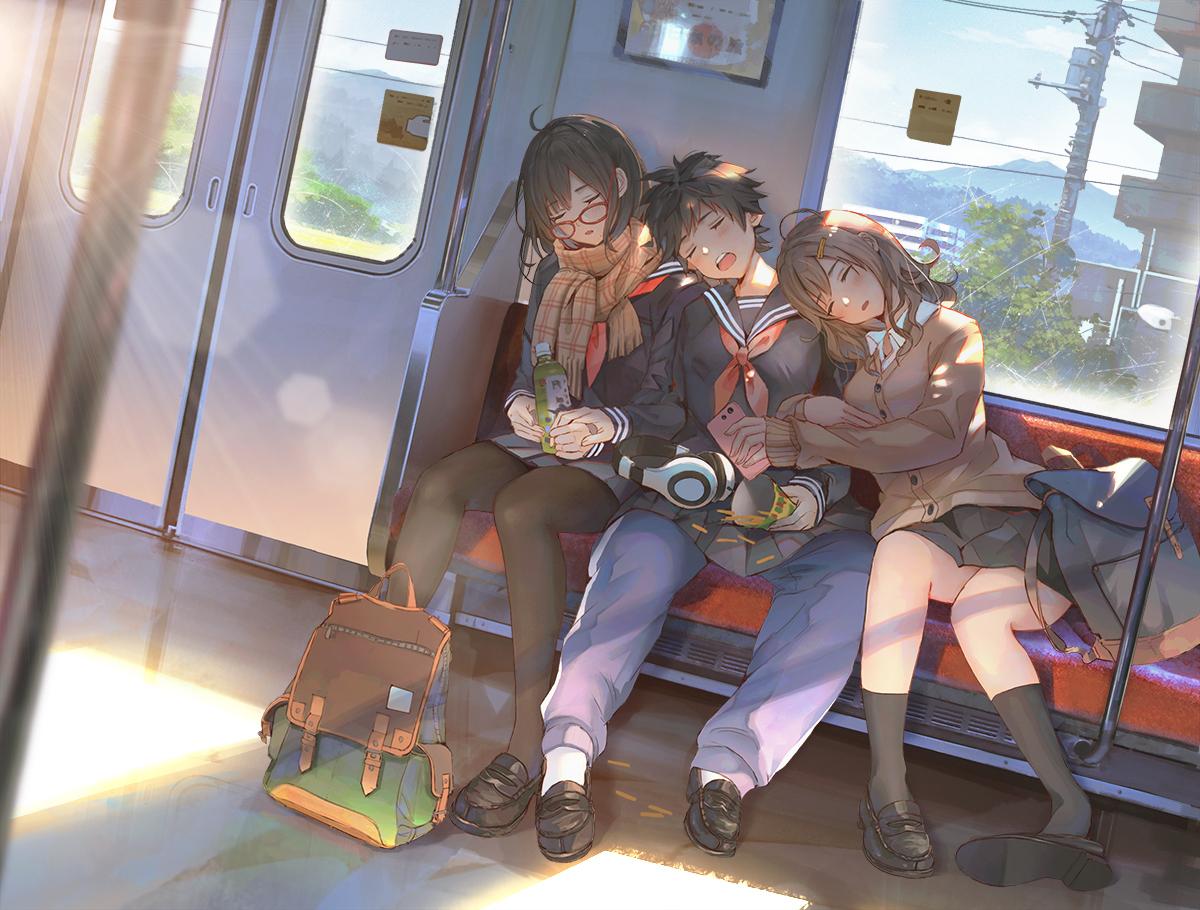 【P站画师】JK与风景!日本画师ショウイチ的插画作品- ACG17.COM