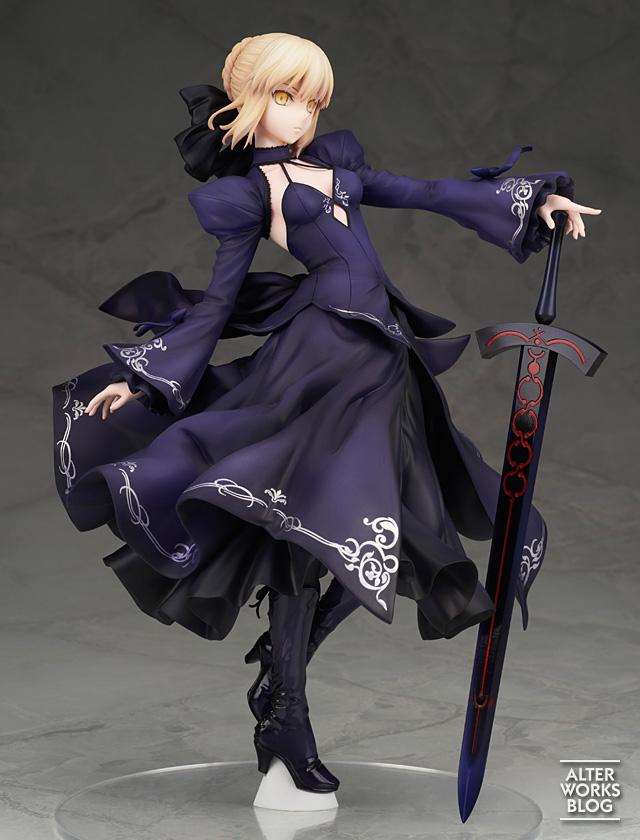ALTER《Fate/Grand Order》Saber 阿尔托莉雅 黑礼服 再贩开订- ACG17.COM